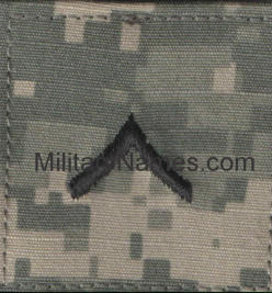 ACU UCP Army Rank with Velcro